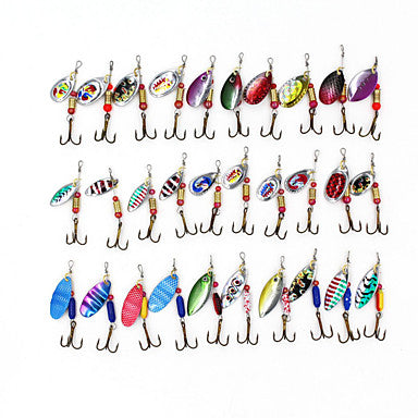 30 pcs Hard Bait / Spinner Baits / Lures