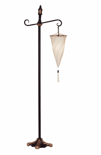 Spiral Hanging Floor Lamp