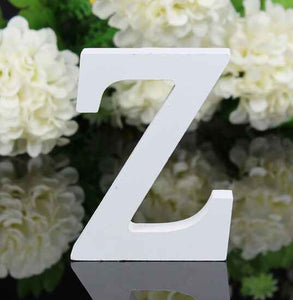 8x5x1.2cm New A-Z Wooden Letters