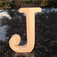 Load image into Gallery viewer, 10cm High Wood Wooden Letters A to Z