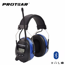 Load image into Gallery viewer, Bluetooth AM/FM Radio Earmuffs