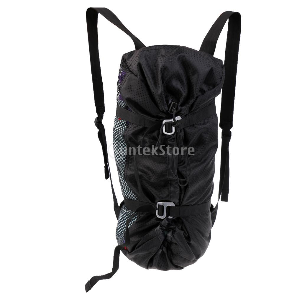 Outdoor Rock Climbing Rope Storage Bag Backpack