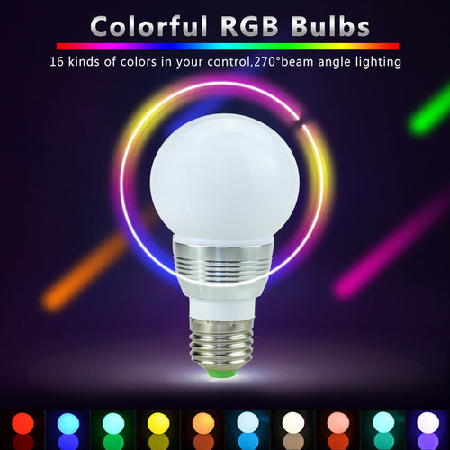 Colour Changing  LED Bulb