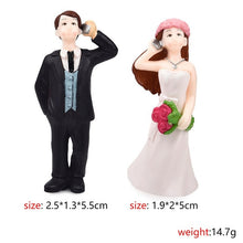 Load image into Gallery viewer, 1 set Sweety Lovers Couple Chair Figurine