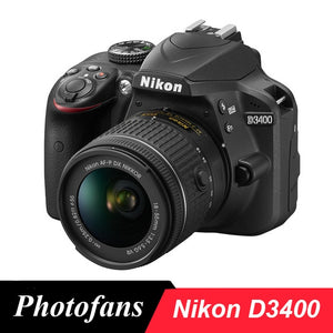Nikon D3400 DSLR Camera with Bluetooth