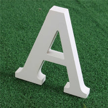 Load image into Gallery viewer, Creative Artificial Wooden White Letters