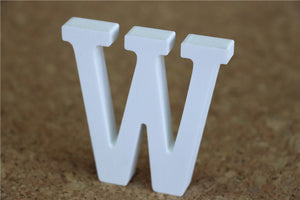 8cm Wood Craft Wooden Letters