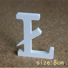 Load image into Gallery viewer, 8cm Wood Craft Wooden Letters