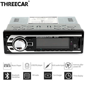 Universal bluetooth Car Radio with Remote Control