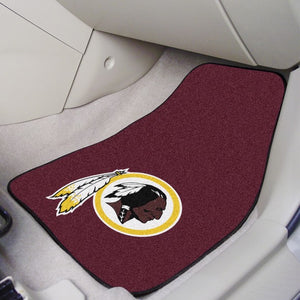 "NFL - Washington Redskins Carpet Car Mat Set 17"" x 27"""
