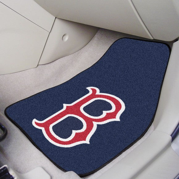 MLB - Boston Red Sox Carpet Car Mat Set 17