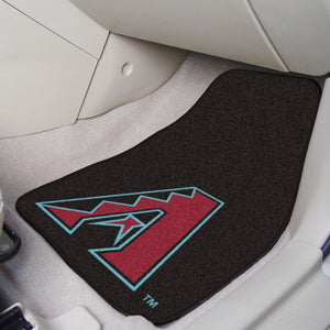 "MLB - Arizona Diamondbacks Carpet Car Mat Set 17"" x 27"""