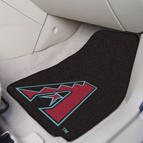 MLB - Arizona Diamondbacks Carpet Car Mat Set 17