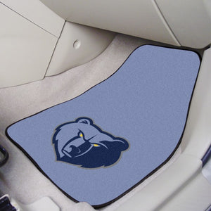 "NBA - Memphis Grizzlies Carpet Car Mat Set 17"" x 27"""
