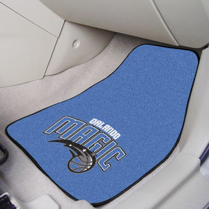 "NBA - Orlando Magic Carpet Car Mat Set 17"" x 27"""