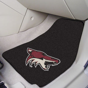 "NHL - Arizona Coyotes Carpet Car Mat Set 17"" x 27"""