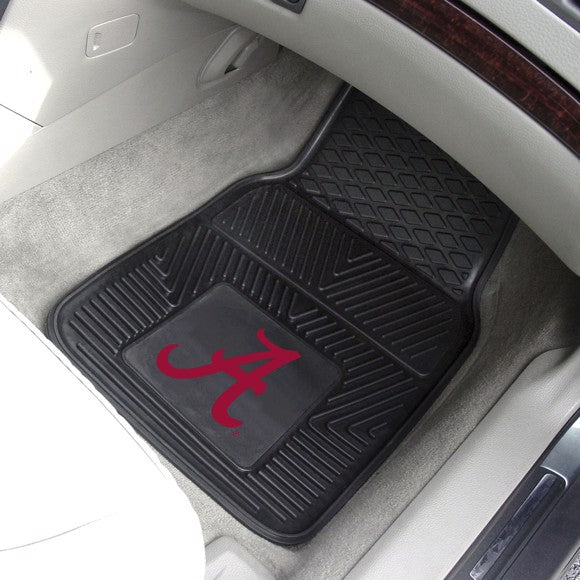 "Alabama Vinyl Car Mat Set 17"" x 27"""