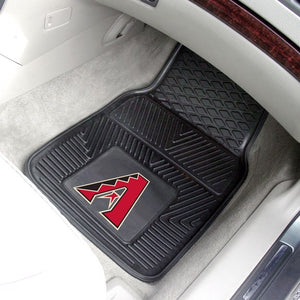 "MLB - Arizona Diamondbacks Vinyl Car Mat Set 17"" x 27"""