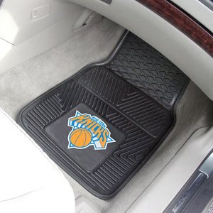 "NBA - New York Knicks Vinyl Car Mat Set 17"" x 27"""