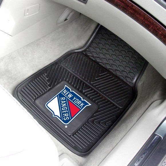 NHL - New York Rangers Vinyl Car Mat Set 17