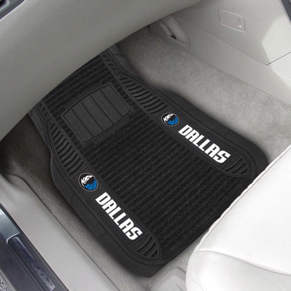 "NBA - Dallas Mavericks Deluxe Car Mat Set 21"" x 27"""