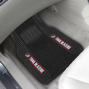 "NBA - Portland Trail Blazers Deluxe Car Mat Set 21"" x 27"""
