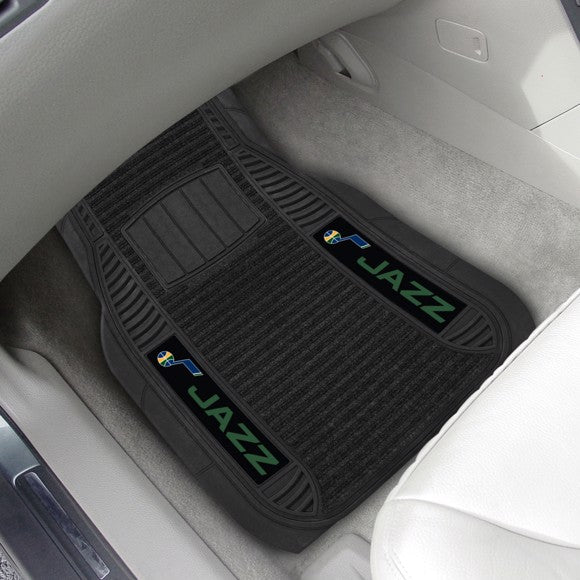 "NBA - Utah Jazz Deluxe Car Mat Set 21"" x 27"""