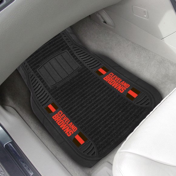NFL - Cleveland Browns Deluxe Car Mat Set 21