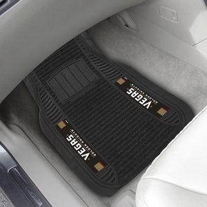"NHL - Vegas Golden Knights Deluxe Car Mat Set 21"" x 27"""