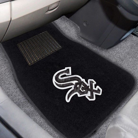MLB - Chicago White Sox Embroidered Car Mat Set 17