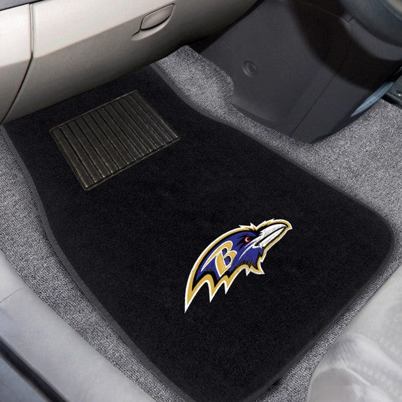 NFL - Baltimore Ravens Embroidered Car Mat Set 17