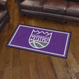 NBA - Sacramento Kings 3'x5' Plush Rug 3' x 5'