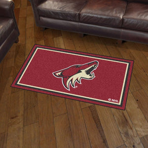 NHL - Arizona Coyotes 3'x5' Plush Rug 3' x 5'