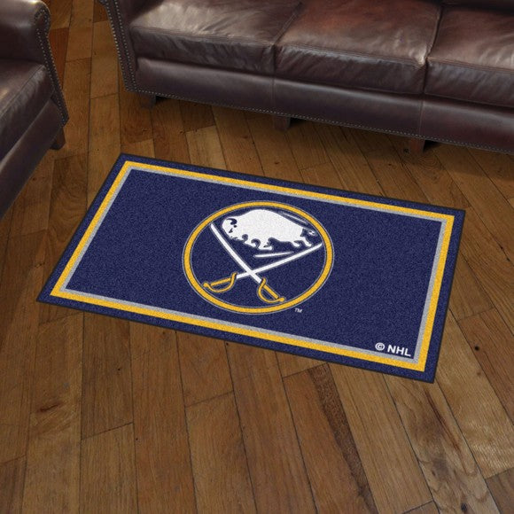 NHL - Buffalo Sabres 3'x5' Plush Rug 3' x 5'