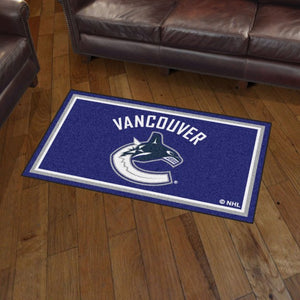 NHL - Vancouver Canucks 3'x5' Plush Rug 3' x 5'