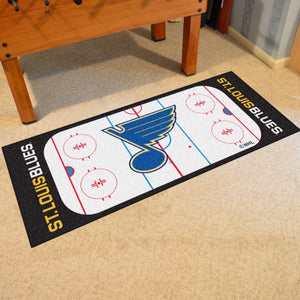 "NHL - St. Louis Blues Rink Runner 30"" x 72"""