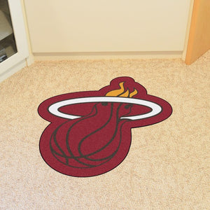 "NBA - Miami Heat Mascot Mat 34.5"" x 36"""