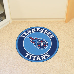 NFL - Tennessee Titans Roundel Mat 27""