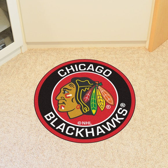 NHL - Chicago Blackhawks Roundel Mat 27""