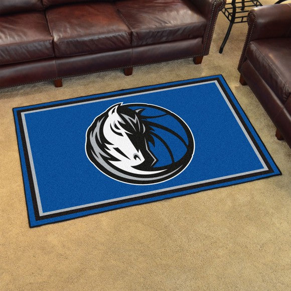 "NBA - Dallas Mavericks 4'x6' Plush Rug 44"" x 71"""