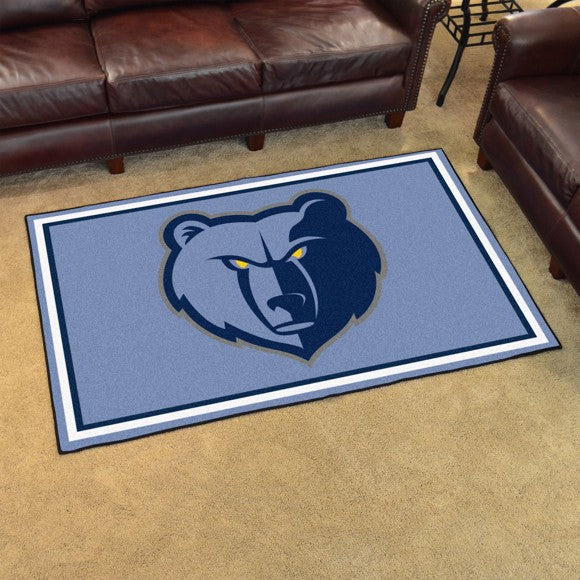 NBA - Memphis Grizzlies 4'x6' Plush Rug 44