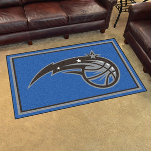 "NBA - Orlando Magic 4'x6' Plush Rug 44"" x 71"""