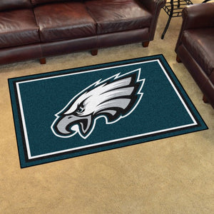 "NFL - Philadelphia Eagles 4'x6' Plush Rug 44"" x 71"""