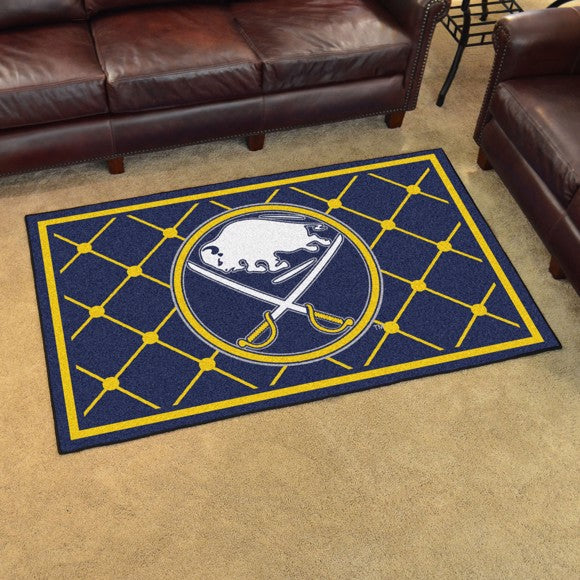 NHL - Buffalo Sabres 4'x6' Plush Rug 44