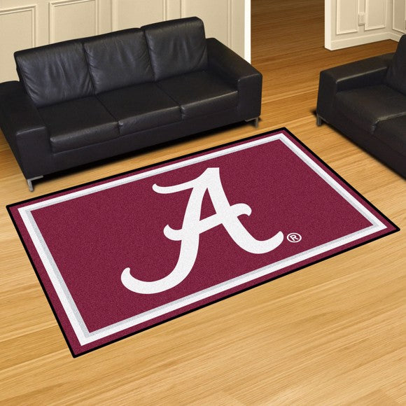 "Alabama 5'x8' Plush Rug 59.5"" x 88"""