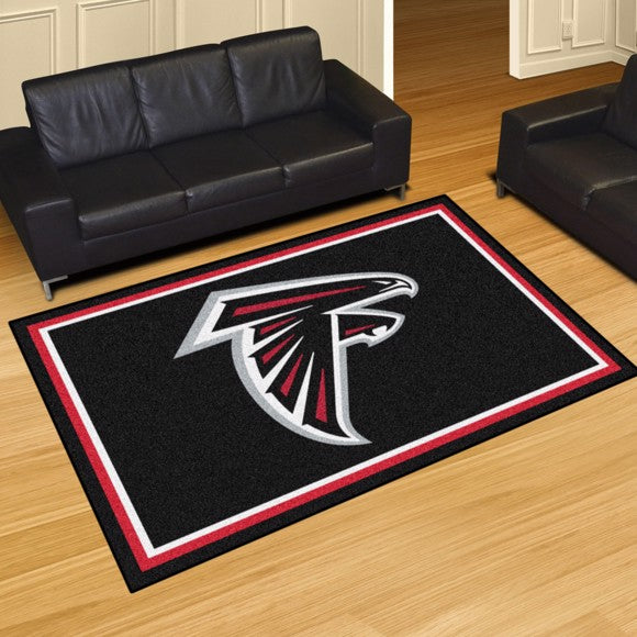 NFL - Atlanta Falcons 5'x8' Plush Rug 59.5