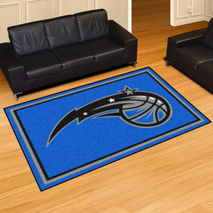 "NBA - Orlando Magic 8'x10' Plush Rug 87"" x 117"""