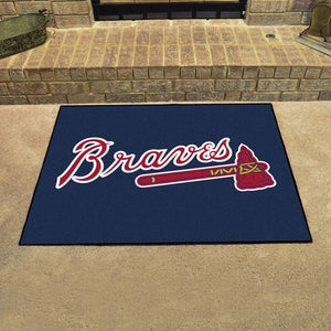 "MLB - Atlanta Braves All Star Mat 33.75"" x 42.5"""