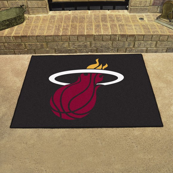 "NBA - Miami Heat All Star Mat 33.75"" x 42.5"""