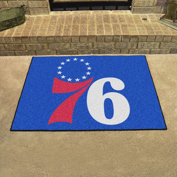 "NBA - Philadelphia 76ers All Star Mat 33.75"" x 42.5"""